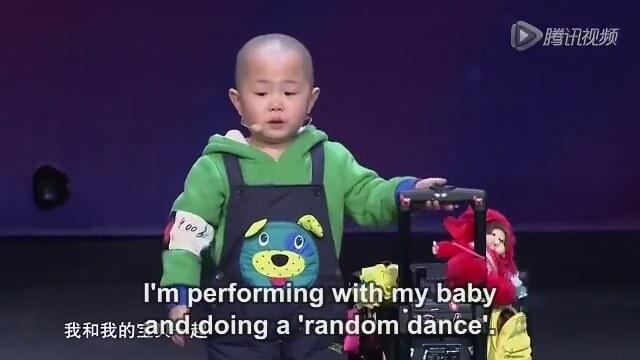 3 Yaşındaki Çin'li Çocuğun Dans Performası