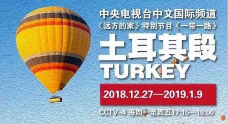Çin televizyonunda Türkiye günleri!