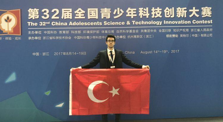 Çin'de Türk Gururumuz