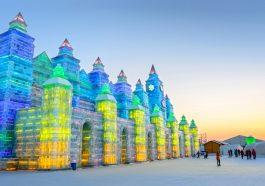 Harbin'de Uluslararası Buz Festivali başladı!