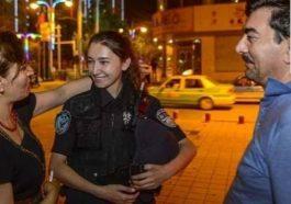 Xinjiang'ın Güzel Polisi