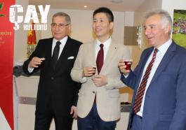 """Türkiye-Çin Ortak Kültür Mirası """"Çay"""" etkinliği düzenlendi."""