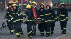 Çin'de 30 itfaiyeci öldü!