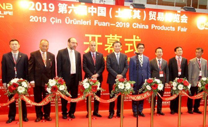 6. Çin Ürünleri Fuarı İstanbul'da kapılarını açtı!