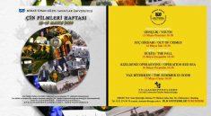 Mimar Sinan'da 'Çin Filmleri Haftası'