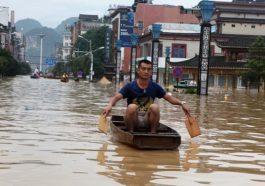 Çin'de Sel Felaketi 49 ölü
