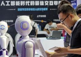 Beijing Uluslararası Robot Sergisi Ziyarete açıldı.