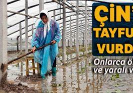 Çin'de Lekima tayfunu devam ediyor: 48 kişi yaşamını yitirdi