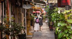 Çin'in sanat labirenti 'Tianzifang'
