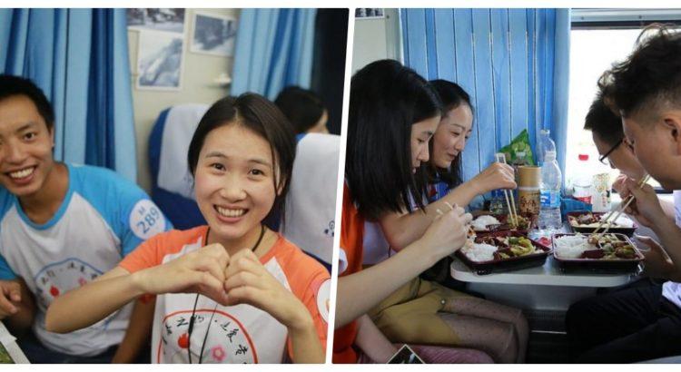 Çin'de Aşk Treni!