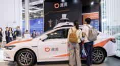 Çin'de Robot Taksi!