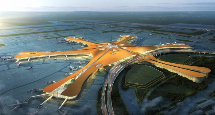 Çin'in yeni havalimanı Daxing'e uçuşlar başladı!