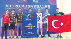 Türkiye Yıldızları Çin'de ödül aldı!