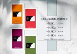 Çince Mütercim Tercümanlık Mezunları Türkiye'de bir ilki gerçekleştirerek Çince-Türkçe Kelime kartları hazırladılar!