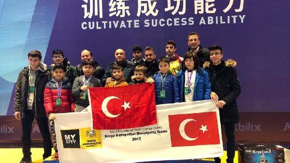 Çin'de Düzenlenen Dünya Eğitim Robotları Yarışması'nda göğsümüzü kabarttılar