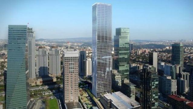 İstanbul'un en yüksek binalarından birini Çinliler satın aldı