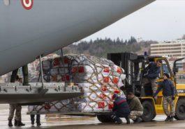 Çin'den Türkiye'nin tıbbi malzeme yardımına teşekkür