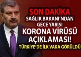 Corona virüsü Türkiye'de görüldü! Uzmanlar uyardı!
