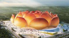 Çin'de dev stadın yapımı başladı