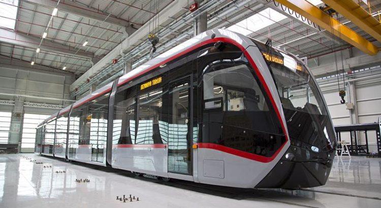 Çin'in Türkiye için geliştirdiği sürücüsüz metro treni üretim bandından çıktı