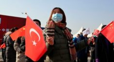 Çin Türkiye'nin ihracat trenini törenle karşıladı